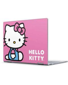 Hello Kitty Sitting Pink Pixelbook Skin