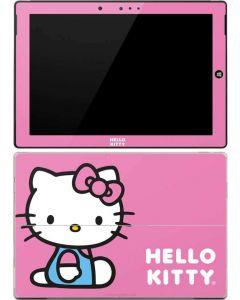 Hello Kitty Sitting Pink Surface 3 Skin
