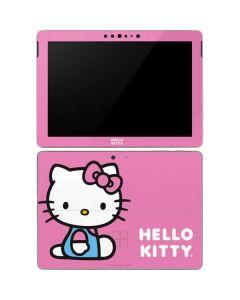 Hello Kitty Sitting Pink Surface Go Skin