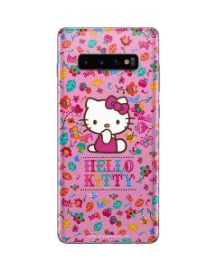 Hello Kitty Smile Galaxy S10 Plus Skin
