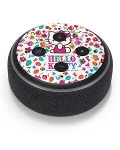 Hello Kitty Smile White Amazon Echo Dot Skin