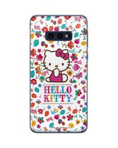 Hello Kitty Smile White Galaxy S10e Skin