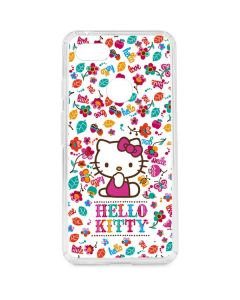 Hello Kitty Smile White Google Pixel 3 XL Clear Case