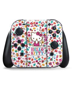Hello Kitty Smile White Nintendo Switch Joy Con Controller Skin