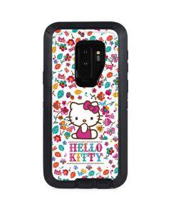Hello Kitty Smile White Otterbox Defender Galaxy Skin