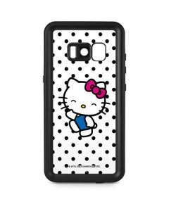 Hello Kitty Waving Galaxy S8 Plus Waterproof Case