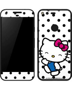 Hello Kitty Waving Google Pixel Skin