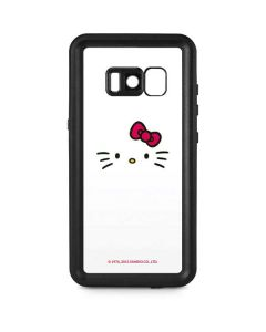 Hello Kitty White Galaxy S8 Plus Waterproof Case