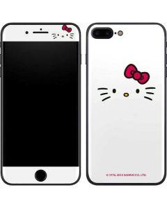 Hello Kitty White iPhone 8 Plus Skin