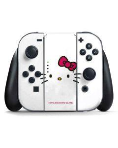 Hello Kitty White Nintendo Switch Joy Con Controller Skin