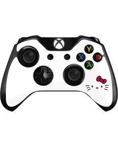 Hello Kitty White Xbox One Controller Skin
