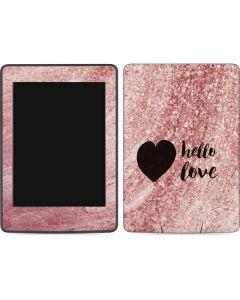 Hello Love Amazon Kindle Skin