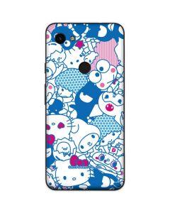Hello Sanrio Blue Blast Google Pixel 3a XL Skin