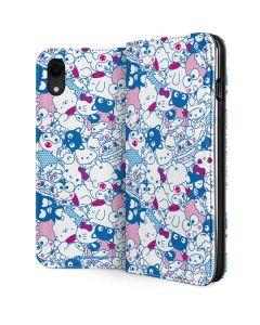 Hello Sanrio Blue Blast iPhone XR Folio Case