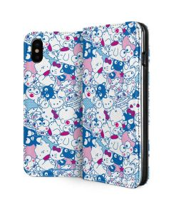 Hello Sanrio Blue Blast iPhone XS Max Folio Case
