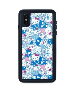 Hello Sanrio Blue Blast iPhone XS Max Waterproof Case