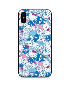 Hello Sanrio Blue Blast iPhone XS Skin