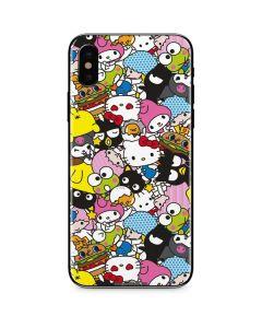 Hello Sanrio Color Blast iPhone XS Max Skin