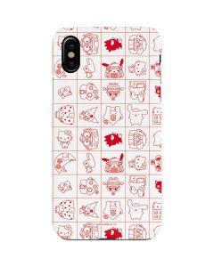 Hello Sanrio Outline iPhone XS Lite Case
