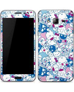 Hello Sanrio Blue Blast Galaxy J3 Skin