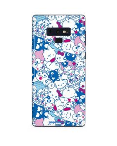 Hello Sanrio Blue Blast Galaxy Note 9 Skin