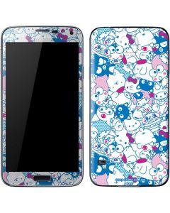 Hello Sanrio Blue Blast Galaxy S5 Skin
