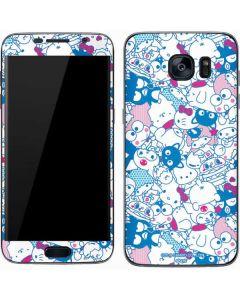 Hello Sanrio Blue Blast Galaxy S7 Skin