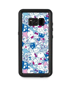 Hello Sanrio Blue Blast Galaxy S8 Plus Waterproof Case