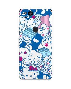 Hello Sanrio Blue Blast Google Pixel 2 Skin