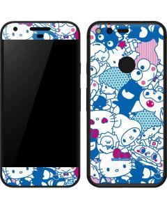 Hello Sanrio Blue Blast Google Pixel Skin