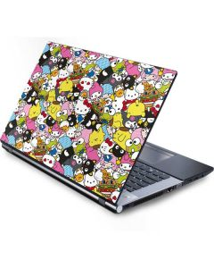 Hello Sanrio Color Blast Generic Laptop Skin