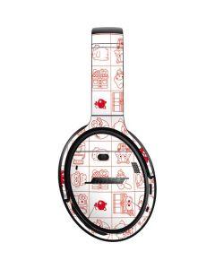Hello Sanrio Outline Bose QuietComfort 35 II Headphones Skin