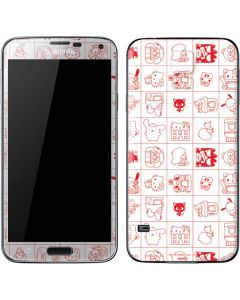 Hello Sanrio Outline Galaxy S5 Skin