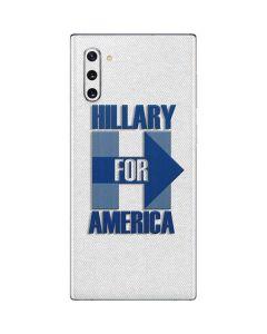 Hillary For America Galaxy Note 10 Skin