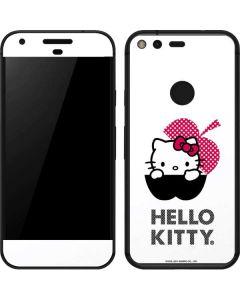 HK Pink Black Apple Google Pixel Skin