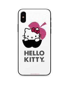 HK Pink Black Apple iPhone XS Max Skin