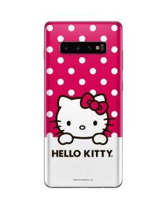 HK Pink Polka Dots Galaxy S10 Plus Skin