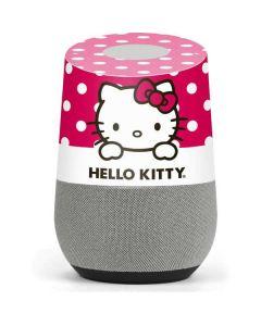 HK Pink Polka Dots Google Home Skin