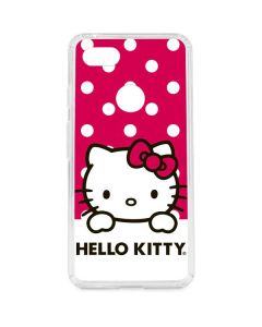 HK Pink Polka Dots Google Pixel 3 XL Clear Case