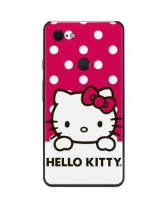 HK Pink Polka Dots Google Pixel 3 XL Skin