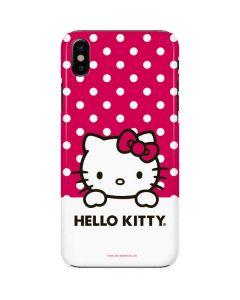 HK Pink Polka Dots iPhone X Lite Case