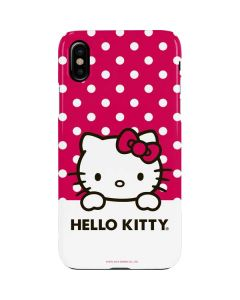 HK Pink Polka Dots iPhone XS Max Lite Case