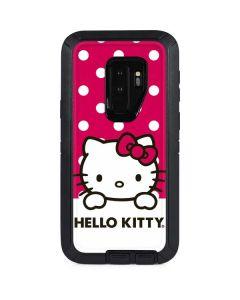 HK Pink Polka Dots Otterbox Defender Galaxy Skin