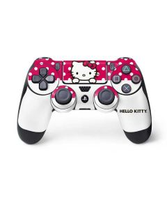 HK Pink Polka Dots PS4 Controller Skin