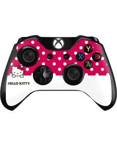 HK Pink Polka Dots Xbox One Controller Skin