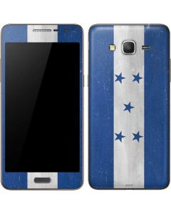 Honduras Flag Distressed Galaxy Grand Prime Skin