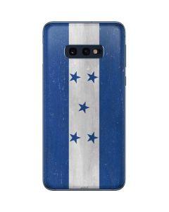 Honduras Flag Distressed Galaxy S10e Skin