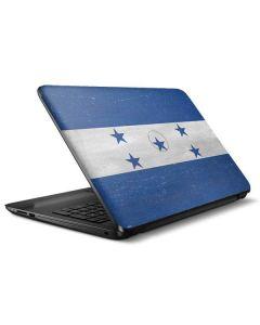 Honduras Flag Distressed HP Notebook Skin