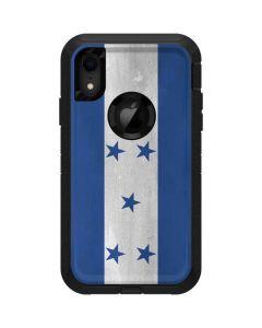 Honduras Flag Distressed Otterbox Defender iPhone Skin