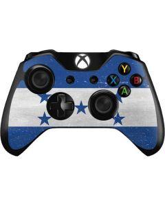 Honduras Flag Distressed Xbox One Controller Skin